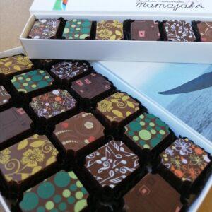Chocolates serigrafiados